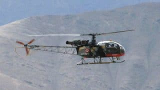 Cheetah helicopter crashes, Three army officers killed
