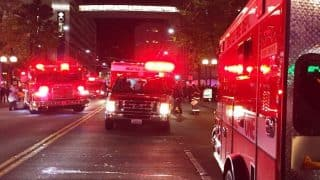 5 shot in downtown Seattle as millions protest against Donald Trump's Presidency