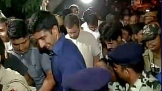 Ex-armyman's suicide: Police prevent Rahul Gandhi from marching to India Gate
