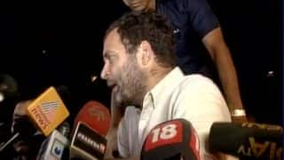 Rahul Gandhi detained during march, slams Narendra Modi government