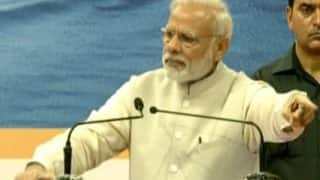 "Narendra Modi turning emotional is ""cheapness of worst limit"": Congress"