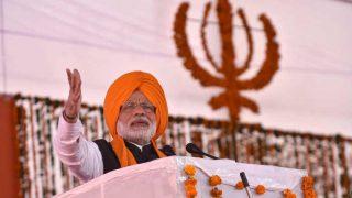 Narendra Modi urges people to follow Guru Gobind Singh's path