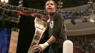 WWE TLC 2016: Dean Ambrose and AJ Styles to meet in TLC match