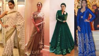 Deepika Padukone, Alia Bhatt, Sonakshi Sinha and Kriti Sanon look ridiculously hot in these traditional Indian outfits!