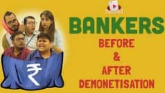 Demonetisation effect: Hilarious video of BankersBefore and After Demonetisation (Watch…