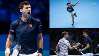 Ruthless Novak Djokovic routs David Goffin in ATP Tour Finals