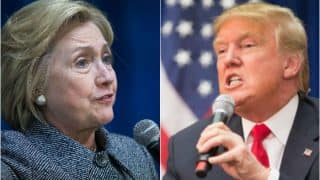 अमेरिकी राष्ट्रपति चुनाव: ट्रंप और हिलेरी में कांटे की टक्कर, ट्रंप को 150, हिलेरी को 122