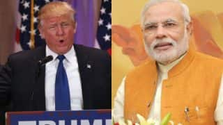 Narendra Modi congratulates Donald Trump on being elected as 45th US President