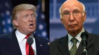 Donald Trump would be entitled to Nobel Prize if he resolves Kashmir dispute: Sartaj Aziz