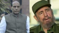Rajnath Singh leaves for Havana to pay last respects to…