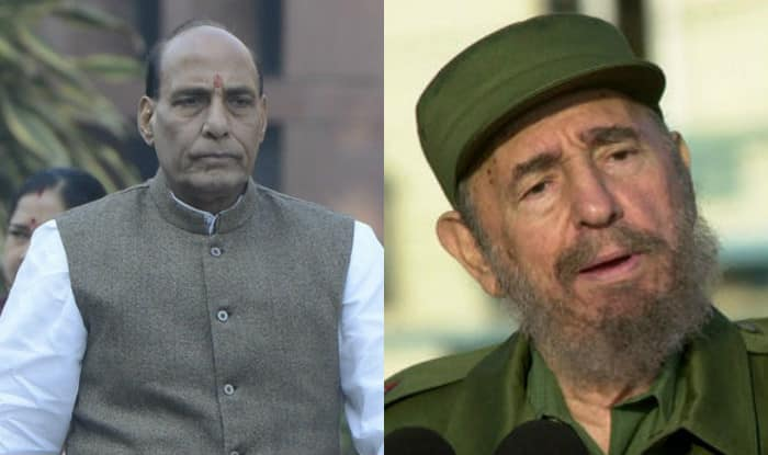 Rajnath Singh leaves for Havana to pay last respects to Fidel Castro