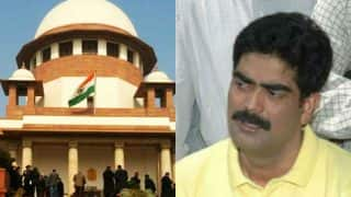 Supreme Court judge recuses himself from hearing of Mohammad Shahabuddin case
