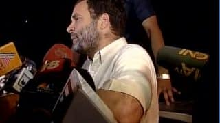 OROP Suicide: Rahul Gandhi released after 2 hours of detention; takes a dig at Narendra Modi