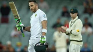 Australia vs South Africa 3rd Test Day 1: Faf du Plessis ton puts Proteas in strong position