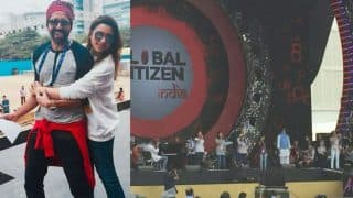 Global Citizen India Festival 2016 live streaming on Voot: Amitabh Bachchan, Ayushmann Khurrana, Parineeti Chopra, Shraddha Kapoor rehearse with Chris Martin for concert! (See pictures)