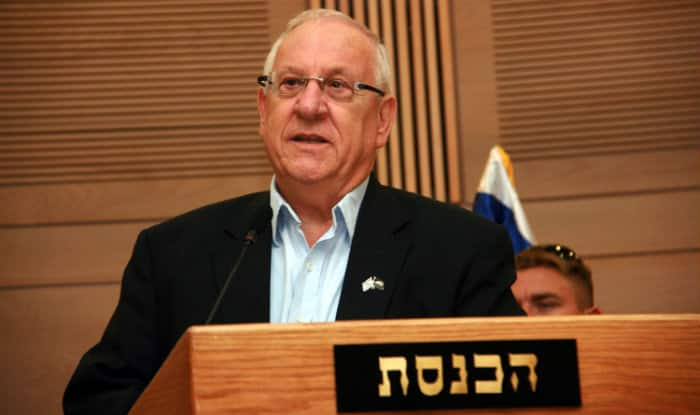 Thank you so much for welcoming me Mr. President: President Rivlin