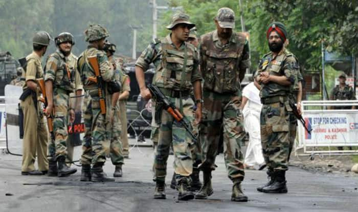Terrorists attacked Army unit today, two Jawans injured