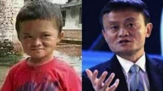 The little boy who looks like one of China's richest men