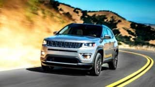Jeep Compass India launch in August 2017; price in India, interiors, features & variants