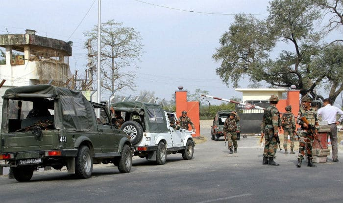 Nagrota terrorattack : AK 47, pistol, grenades recovered from terrorists : BSF
