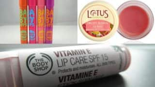 Winter skin care: Best 5 lip balms to care for your dry lips this winter season