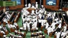 'Black day' in Lok Sabha: Opposition ; Government says tax…
