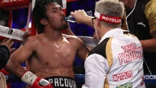 Manny Pacquiao Confirms he Will Fight WBA Welterweight Champion Lucas Matthysse in Malaysia in June