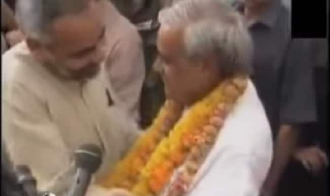 Video of Narendra Modi and Atal Bihari Vajpayee