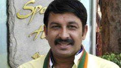 "Manoj Tiwari vows to ""expose"" AAP & ensure BJP's victory…"