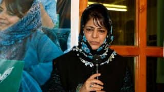 Mehbooba Mufti Terms Amit Shah's Allegations as 'False Charges'; Says BJP Disowning Its Own Initiative