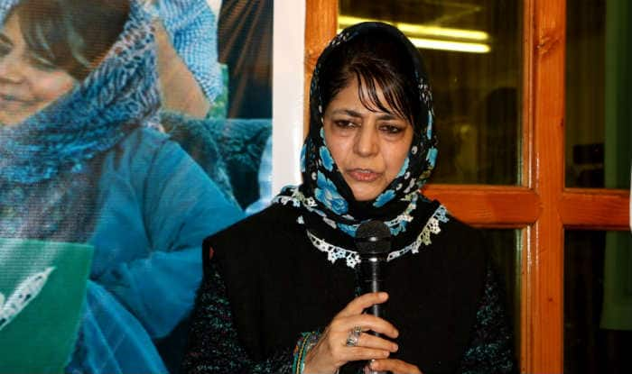 Mehbooba Mufti (File photo)