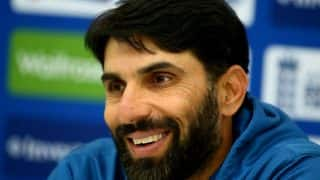 Misbah-ul-Haq blasts 6 sixes in 6 balls in Hong Kong T20, watch the complete video here