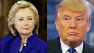 अमेरिका: राष्ट्रपति चुनाव में  हिलेरी क्लिंटन और डोनाल्ड ट्रंप ने मतदाताओं को रिझाने की आखिरी कोशिश की