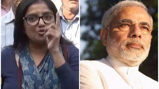 पीएम मोदी का विरोध करने पर अपने पति से तलाक को तैयार है यह महिला, देखिए वीडियो...