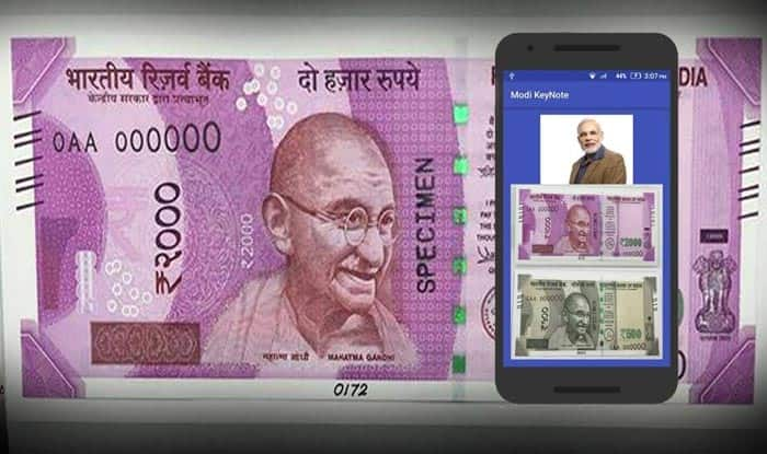 App lets you scan Rs.2000 notes and listen to Modi's speech