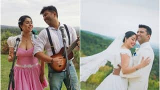 Singer Neha Bhasin ties knot with Sameer Uddin in Italy! (See pictures)