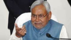 Opponents trying to politically assassinate me, says Nitish Kumar |…
