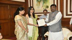 26/11 martyr's daughter Nivedita Shashank Shinde inducted into Maharashtra government