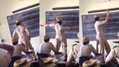 Haryana police woman constable In dancing mood