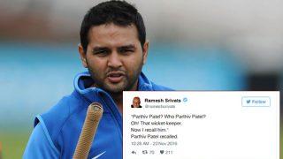 पार्थिव पटेल की टीम इंडिया में हुई वापसी, सोशल मीडिया पर लोगों ने दी मज़ेदार प्रतिक्रियाएं