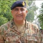 Qamar Javed Bajwa rakes up Kashmir issue, asks troops to respond with full force