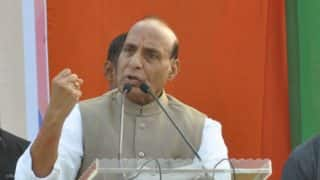 Pakistan will split on its own, India cannot get divided on religion anymore: Rajnath Singh