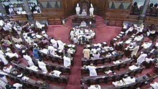विधेयक के बारे में राज्यसभा में बोल रहे थे मंत्री, लंबे भाषण के लिए अपने ही सहयोगी ने दिया उलाहना