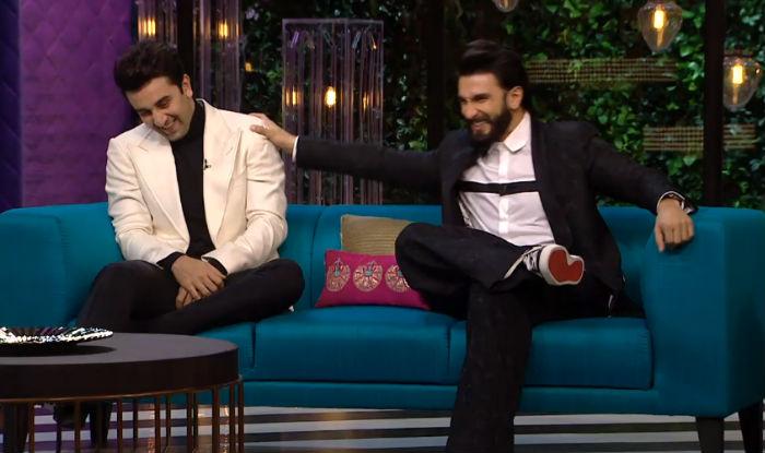 Ranbir-Kapoor-Ranveer-Singh Koffee with Karan 5