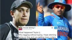 When Virender Sehwag trolled Ross Taylor with this hilarious tweet…