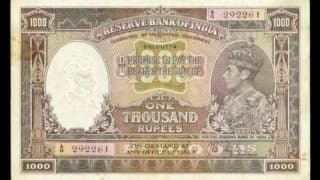 This is the third time the poor Rs 1000 note has been banned in India! Is the Rs 1000 note the unluckiest note ever?