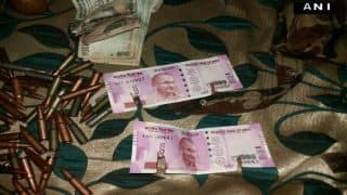 मारे गए लश्कर के दो आतंकीयो के पास से मिले 2000 रुपये के नए नोट