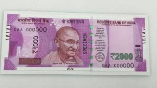 Gujarat: Newly minted Rs 2000 notes find way into 2.5 lakh bribe