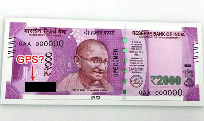 Rs 2000 currency notes issued by Reserve Bank of India will have no GPS tracking chip, confirms Arun Jaitley