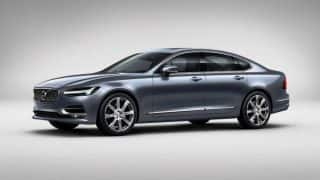 New Volvo S90 2016 launched in India at INR 53.5 lakh; Bookings open